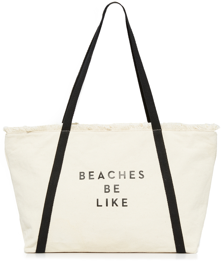 beaches be like milly beach bag