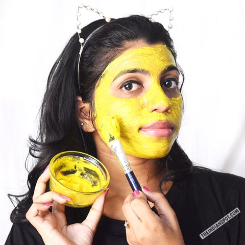 Easy DIY Turmeric Dark Circle Lightening Mask To Try Now