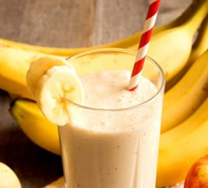 easy banana smoothie recipes to lose weight