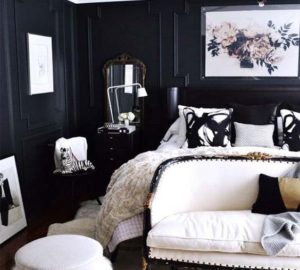 inspiring DIY ideas for black bedroom decor