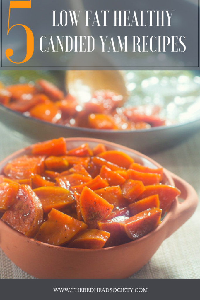 5 LOW FAT HEALTHY CANDIED YAM RECIPES