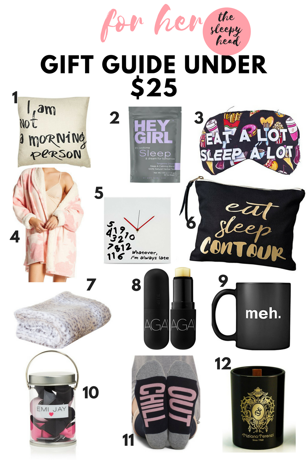 The Perfect Gift Guide Under 25 For Her Personality Type