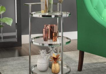 7 Inexpensive compact bar carts